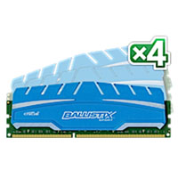 Crucial Ballistix Sport 32GB Kit (4 x 8GB) DDR3-1600 UDIMM