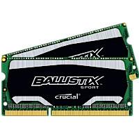Crucial Ballistix Sport 8GB Kit (2 x 4GB) DDR3-1600 SODIMM