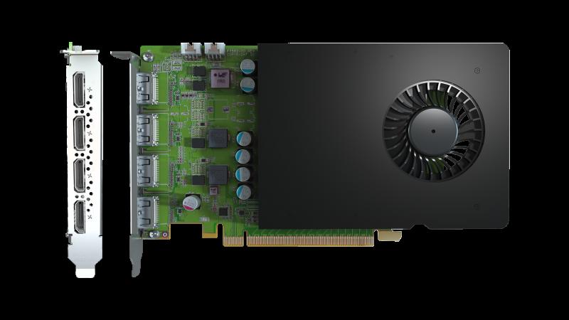 D1450 Quad HDMI Graphics Card