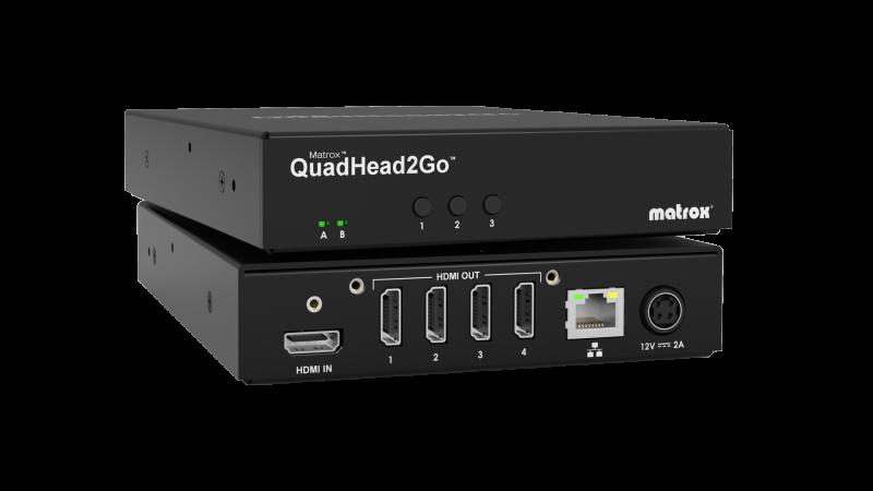 QuadHead2Go Q155 Multi-Monitor Controller Appliance